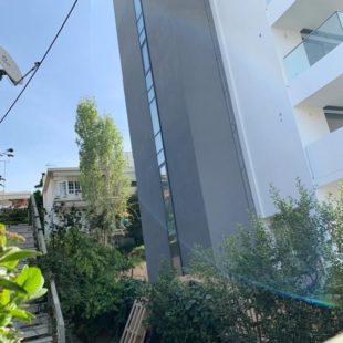 Πολυκατοικία Παπάγου Αθήνα Metalowood Livewise Europa Aluminco Exalco κουφώματα πορτες παράθυρα ρολά σητες ασφαλείας εσωτερικές μεταλλικά διαχωριστικά κάγκελα τοποθέτηση