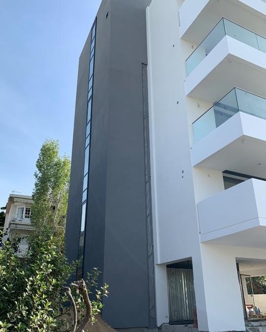 Συστήματα Αλουμινίου MetalowoodΠολυκατοικία Παπάγου Αθήνα Metalowood Livewise Europa Aluminco Exalco κουφώματα πορτες παράθυρα ρολά σητες ασφαλείας εσωτερικές μεταλλικά διαχωριστικά κάγκελα τοποθέτηση ανοιγόμενα