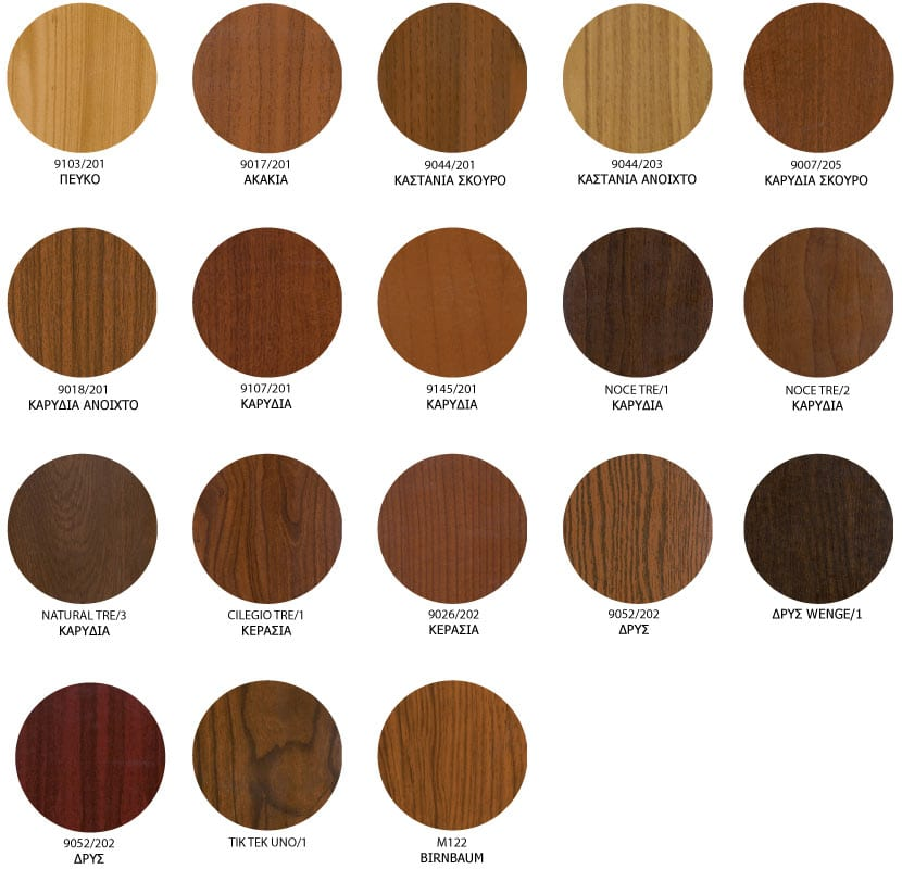 europa color palette wood