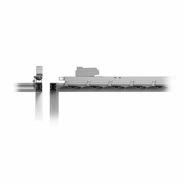Europa Pergola με κινούμενα πτερύγια σκίασης 200mm 02
