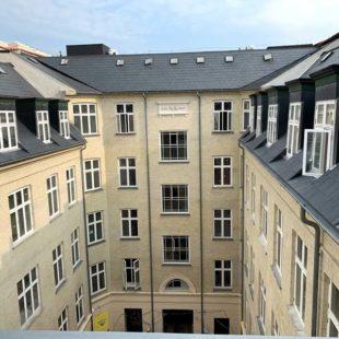Αντικατάσταση παραθύρων στο ξενοδοχείο Norland Κοπεγχάγη