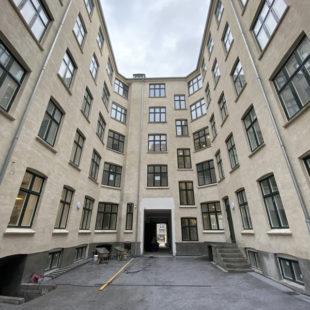 Αντικατάσταση παραθύρων και ειδικών ηχομονωτικών και πυράντοχων πορτών - ξενοδοχείο Corona Κοπεγχάγη