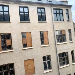 Αντικατάσταση παραθύρων στο ξενοδοχείο Corona Κοπεγχάγη